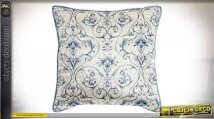 COUSSIN VELOURS POLYESTER 45X45 525GR. FLORAL