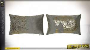 COUSSIN POLYESTER 50X30 390 GR. PANTHERE 2 MOD.