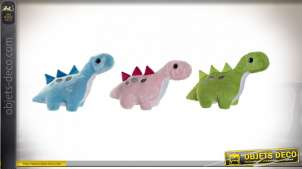 PELUCHE POLYESTER LED 39X17X26 DINOSAURE 3 MOD.