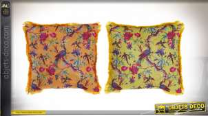 COUSSIN POLYESTER 45X45X56 478 GR. VELOURS 2 MOD.