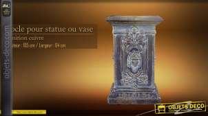 Socle pour statue ou vase