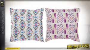 COUSSIN POLYESTER 45X45 572 GR. IKATS 2 MOD.