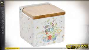 SALIERE DOLOMITE BAMBOU 11X11X11 COOK WITH LOVE