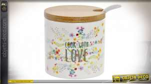 SUCRIER DOLOMITE BAMBOU 7X7X8 175 COOK WITH LOVE