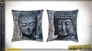 COUSSIN POLYESTER 45X45 518 GR. BOUDDHA 2 MOD.