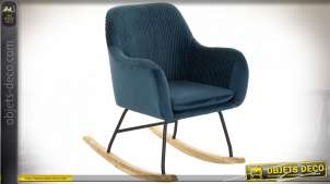 FAUTEUIL POLYESTER PIN 62,5X89X89 BASCULE VELOURS