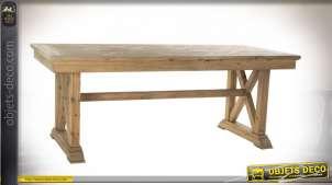 TABLE PIN 200X90X78 VIEILLI NATUREL