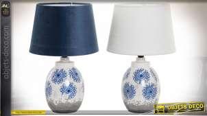 LAMPE DE TABLE ARGILE 24X24X37 2 MOD.