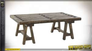 TABLE BASSE ORME 110X70X40 MARRON