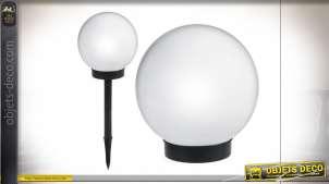 DÉCORATION LUMINEUSE PVC LED 15X15X43 SOLAIRE