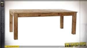 TABLE PIN 200X90X76 PORTÉ NATUREL