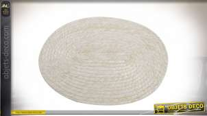 SET DE TABLE FIBRE 40X28X1 NATUREL