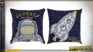COUSSIN POLYESTER 40X3X40 354 GR ASTRONAUTE 2 MOD.