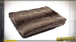 COUVERTURE POLYESTER 130X170 260 GSM. MARRON