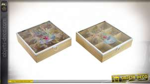 BOÎTE INFUSIONS MDF 24X24X6 COOK WITH LOVE 2 MOD.