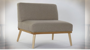 FAUTEUIL POLYESTER PIN 80X66X72 BEIGE
