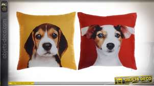 COUSSIN POLYESTER 45X11X45 350 GR, CHIOTS 2 MOD.