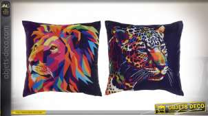 COUSSIN POLYESTER 45X11X45 440 GR, LION 2 MOD.