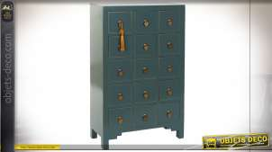 COMMODE MDF PIN 63X26X104 ORIENTAL TURQUOISE