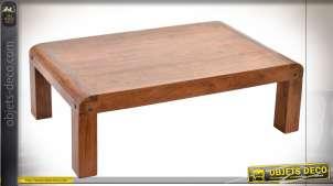 TABLE BASSE ACACIA 110X60X35 20 NATUREL