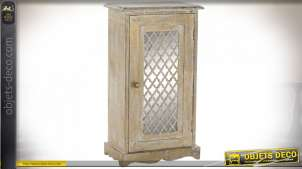 TABLE AUXILIAIRE MANGUE MIROIR 37X22X67 VIEILLI