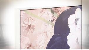 Duo de tableaux sur toile : geishas japonaises 144 x 103 cm