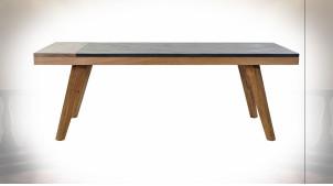 TABLE BASSE ACACIA 130X61X46 MARRON