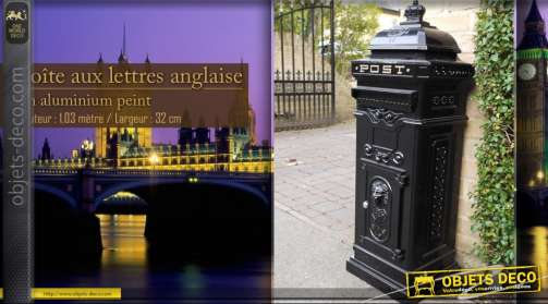 Boîte aux lettres de style anglais