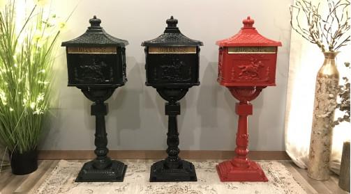 Boîte aux lettres déco Post Box UK noir