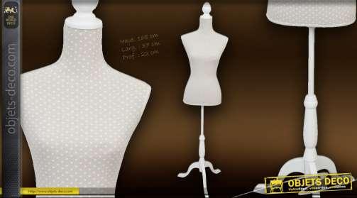 Mannequin tissu et bois