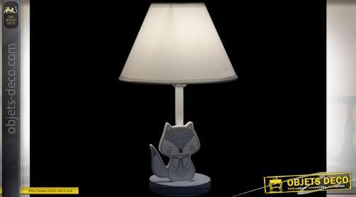 LAMPE DE TABLE MDF MÉTAL 22X37 OISEAU 2 MOD.
