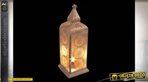 LAMPE MÉTAL 30X85 BLANC
