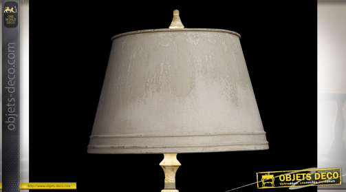 LAMPADAIRE MÉTAL 48X48X180 VIEILLI