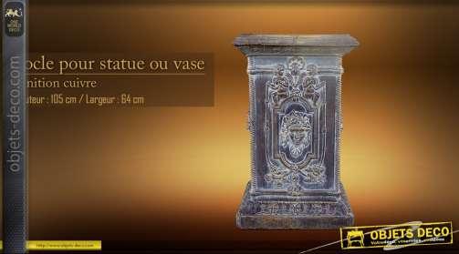 Support de statue ou de vase