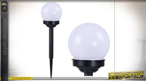DÉCORATION LUMINEUSE PVC LED 10X10X39 SOLAIRE