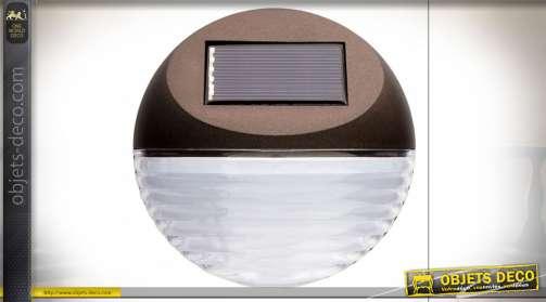 DÉCORATION LUMINEUSE PVC LED 11X11X4 2 LED SOLAIRE