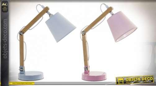 LAMPE DE TABLE MÉTAL PIN 24X12X24,5 FLEXO 2 MOD.