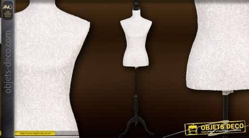 Mannequin femme pour couture ou décoration 168 x 37 x 22 cm