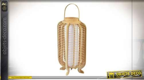 LAMPADAIRE BAMBOU 26X26X61 NATUREL MARRON
