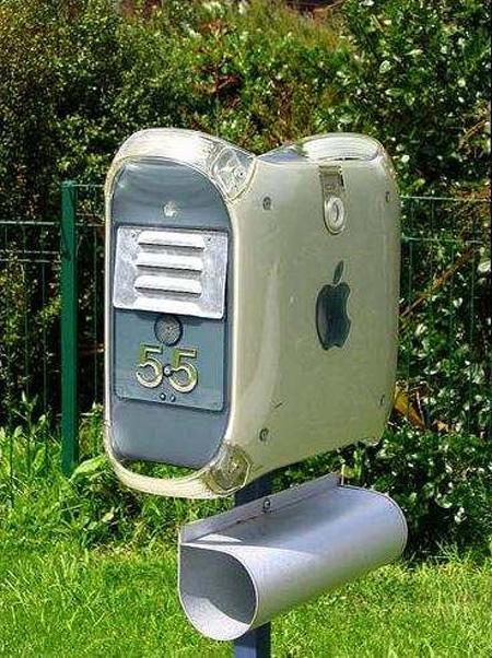 La boîte aux lettres Mac Pro